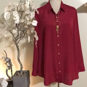 COLDWATER CREEK CLASSY BLOUSE